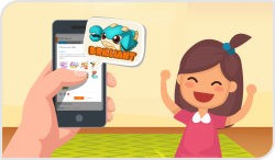 Your own phone app to connect with your child!